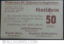 Imaginea #2 a 50 Heller ND - Sankt Johann