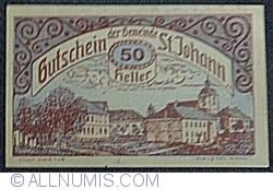 Imaginea #1 a 50 Heller ND - Sankt Johann