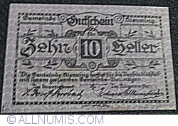 Imaginea #1 a 10 Heller 1920 - Sierning