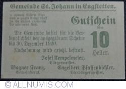 Imaginea #2 a 10 Heller ND - Sankt Johann