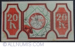 Imaginea #2 a 20 Heller 1920 - Sankt Georgen an der Gusen