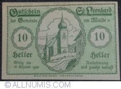 Imaginea #1 a 10 Heller ND - Sankt Leonhard am Walde