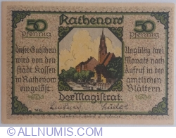 Imaginea #1 a 50 Pfennig ND - Rathenow