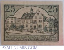 Image #2 of 25 Pfennig ND (1919-1920) - Steinau