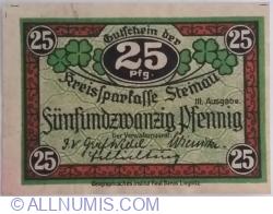 Image #1 of 25 Pfennig ND (1919-1920) - Steinau