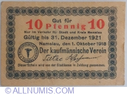 10 Pfennig 1918 - Namslau