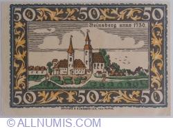 Image #2 of 50 Pfennig ND - Rheinsberg