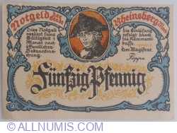 Image #1 of 50 Pfennig ND - Rheinsberg