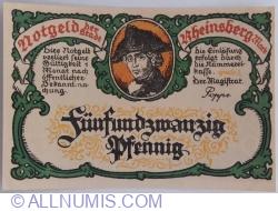 Image #1 of 25 Pfennig ND - Rheinsberg