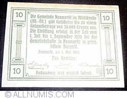 Imaginea #2 a 10 Heller 1920 - Neumarkt im Mühlkreis