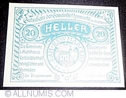Imaginea #1 a 20 Heller 1920 - Neumarkt im Mühlkreis