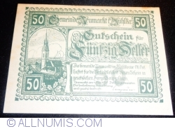 Imaginea #1 a 50 Heller 1920 - Neumarkt im Mühlkreis