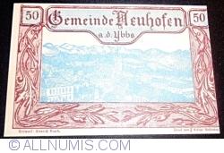 Imaginea #1 a 50 Heller 1920 - Neuhofen an der Ybbs
