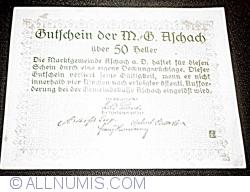 Imaginea #2 a 50 Heller ND - Aschach an der Donau