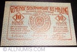 Image #1 of 10 Heller 1920 - Biedermannsdorf