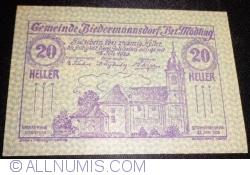 Image #1 of 20 Heller 1920 - Biedermannsdorf
