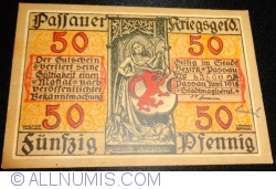 Image #1 of 50 Pfennig 1918 - Passau