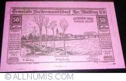 Image #1 of 50 Heller 1920 - Biedermannsdorf