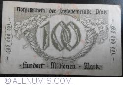 Image #2 of 100,000,000 Mark 1923 - Pfalz