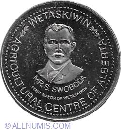 1 Dollar 1981 - Wetaskiwin