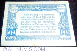 Imaginea #2 a 10 Heller 1920 -  Manglburg
