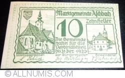 Imaginea #1 a 10 Heller 1920 - Aschbach