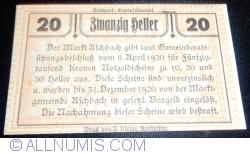 Imaginea #2 a 20 Heller 1920 - Aschbach