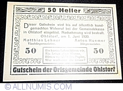 Image #2 of 50 Heller 1920 - Ohlstorf