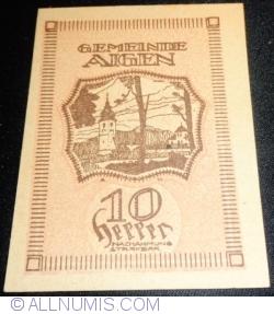 Imaginea #2 a 10 Heller 1920 - Aigen