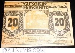 20 Heller 1920 - Ferschnitz