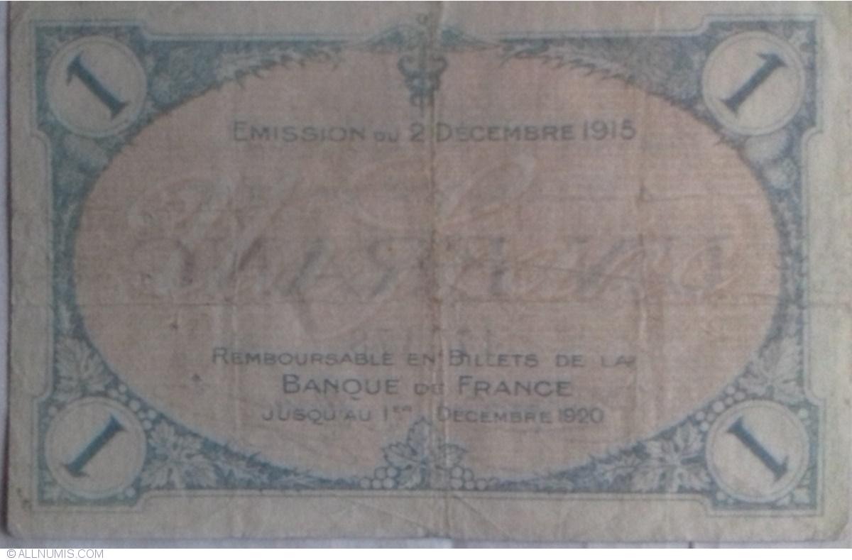 1 franc 1915 villefranche sur sa ne chamber of commerce chambre de commerce france - Chambre de commerce de villefranche ...