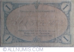 Imaginea #2 a 1 Franc 1915