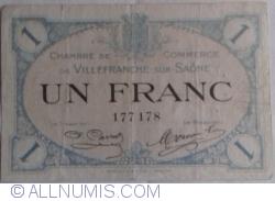 Imaginea #1 a 1 Franc 1915