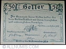 Imaginea #2 a 50 Heller 1920 - Loiben