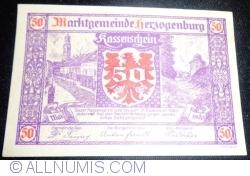 50 Heller 1920 - Herzogenburg