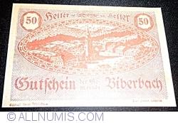 Imaginea #1 a 50 Heller ND - Biberbach