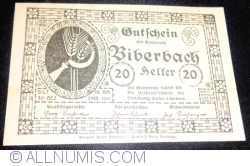 Imaginea #2 a 20 Heller ND - Biberbach