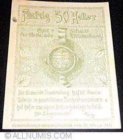 Image #2 of 50 Heller 1920 - Frankenburg