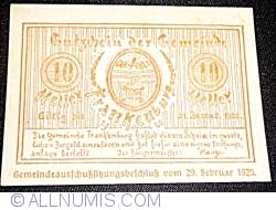 Image #1 of 10 Heller 1920 - Frankenburg