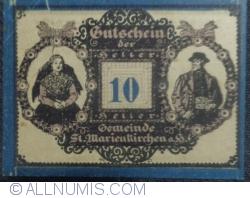 Imaginea #1 a 10 Heller 1920 - Sankt Marienkirchen am Hausruck