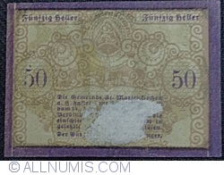 Imaginea #2 a 50 Heller 1920 - Sankt Marienkirchen am Hausruck