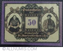 Imaginea #1 a 50 Heller 1920 - Sankt Marienkirchen am Hausruck