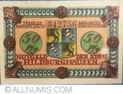 Image #1 of 50 Pfennig 1921 - Hildburghausen