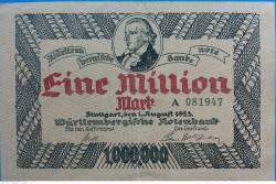 Image #1 of 1 000 000 Mark 1923 - Stuttgart