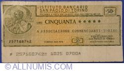 Imaginea #1 a 50 Lire 1976 (30. VIII.) - Torino