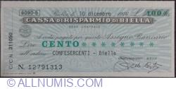 Imaginea #1 a 100 Lire 1976 (10. XII.) -  Biella