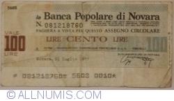Image #1 of 100 Lire 1977 (21. VII.) - Novara