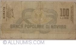 Image #2 of 100 Lire 1977 (21. VII.) - Novara