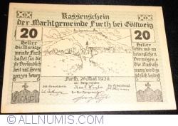Image #1 of 20 Heller 1920 - Furth bei Göttweig