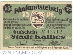 Image #1 of 75 PF Pfennig 1921 - Kallies